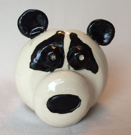 C The Happy Pig Is The Most Common Bank It Possible To Glaze A Name Onto